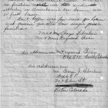 Brief aus USA Colorado 24.01.1948 (2)
