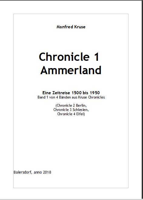 Chronicle 1 Titelseite