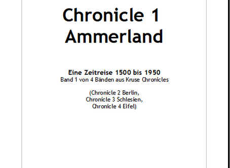 Kruse Chronicles