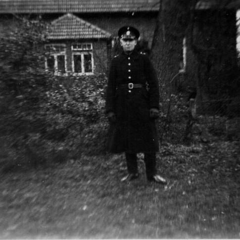 Georg Kruse als Polizist 1935