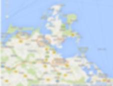 Landkarte Mutterlinie. Kruse Baiersdorf