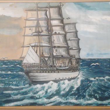Aquarell (1) gemalt von Georg Kruse (1915-1998)