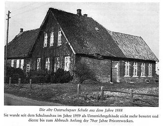 Dorfschule in Osterscheps im Ammerland. Kruse Baiersdorf