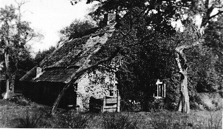 Elternhaus Georg Kruse (Rückseite) in Osterscheps. Baiersdorf