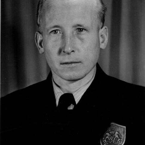 Georg Kruse bei Bremer Polizei ca. 1952