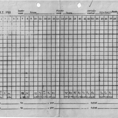 Arbeitsplan 1945 (1) Kriegsgefangenenlager