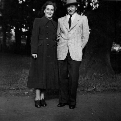 Mutti, Vati ca. 1949