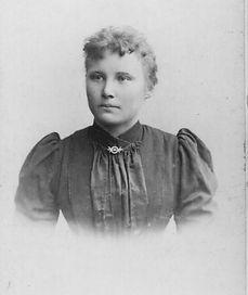 Anna Kruse (geb. Roeben) 1898. Kruse Baiersdorf
