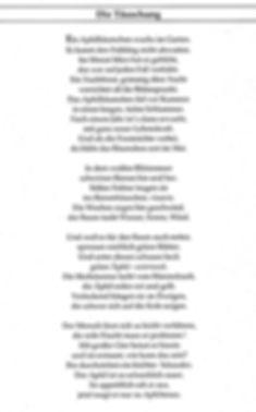 Gedicht von meiner Cousine Karla (1) 2015. Kruse Baiersdorf