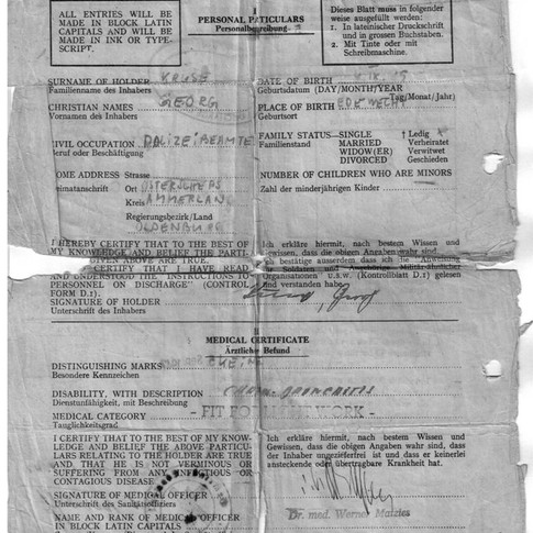 Entlassung aus der Kriegsgefangenschaft 05.08.1947 (2)