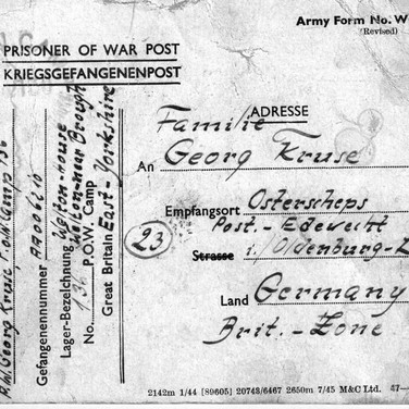 England Kriegsgefangenenpost 16.04.1947 (1)
