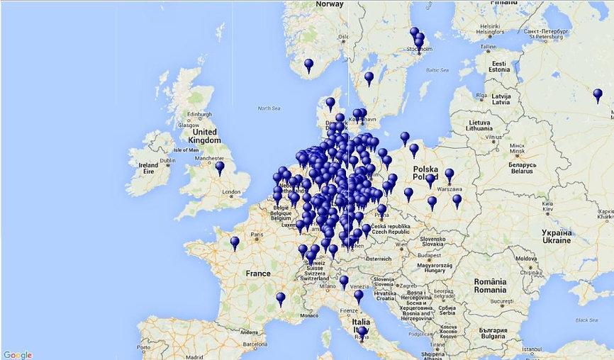 Ahnen in Europa. Kruse Baiersdorf