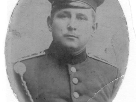 Opa als Soldat im Ersten Weltkrieg
