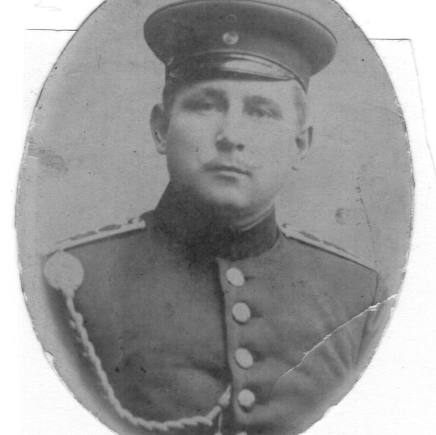 Opa Georg Kruse als Soldat im Ersten Weltkrieg
