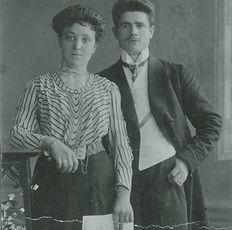 Wilhelm und Anna Schumacher 1914. Kruse Baiersdorf