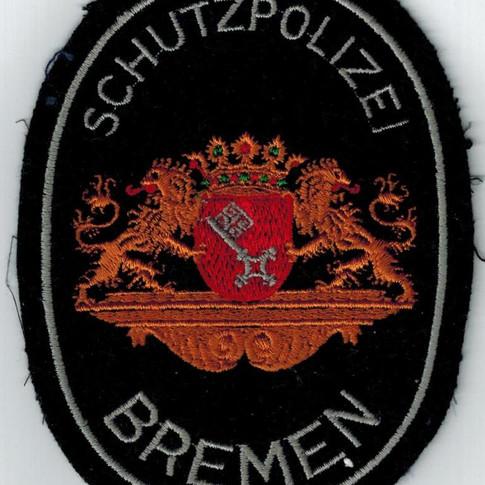 Schutzpolizei Bremen 60er Jahre Ärmelabzeichen