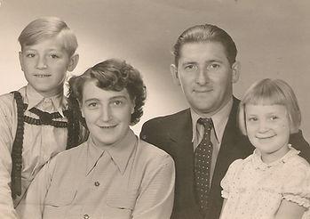 Familie Fritz Kabs 1960. Kruse Baiersdorf