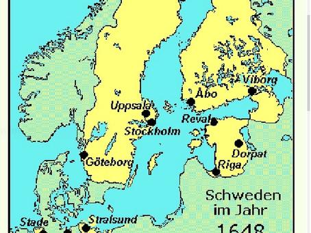 Mutters Spur via Ruegen nach Schweden