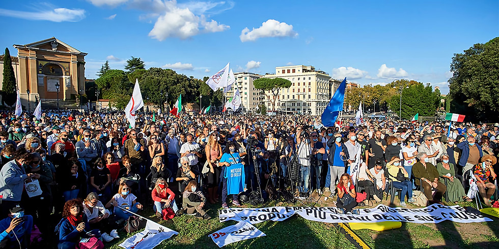 In 15.000 a Piazza San Giovanni