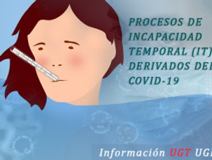 🔴 UGT | UGR INFORMA:  PROCESOS DE INCAPACIDAD TEMPORAL (IT) DERIVADOS DEL COVID-19