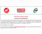 🔴 PROCESO DE FUNCIONARIZACIÓN PAS UGR. COMUNICADO CONJUNTO SINDICAL