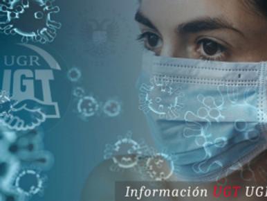 🔴UGT|UGR INFORMA: LA UNIVERSIDAD SE IMPLICA EN EL TEST DEL COVID-19, COMO LE PEDÍA UGT