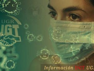 🔴 UGT | UGR INFORMA: LA SEGURIDAD Y SALUD LABORAL EN TIEMPOS DEL CORONAVIRUS. Informe de la reunión