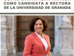 UGTAPOYA A PILAR ARANDA COMO CANDIDATA A RECTORA DE LA UNIVERSIDAD DE GRANADA