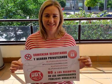"""🔴 """" Día de las Administraciones Públicas"""". Desde UGT de la Universidad de Granada defendemos&"""