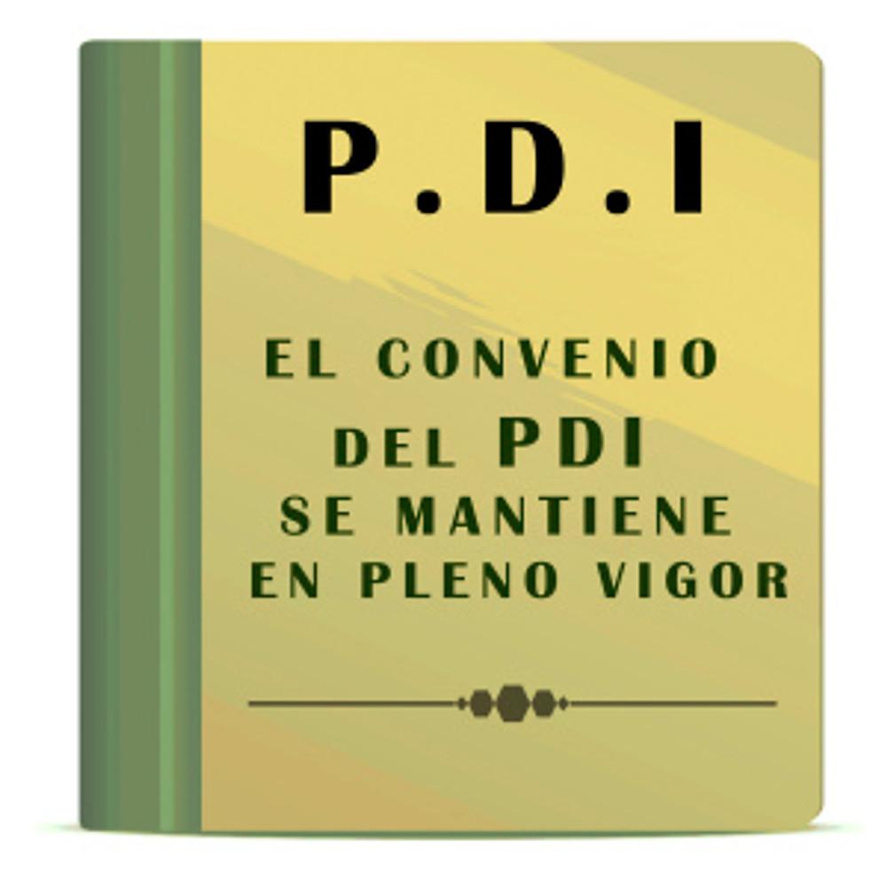 PDI convenio