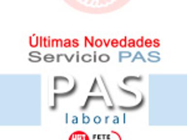 Últimas Novedades Servicio PAS (UGR)