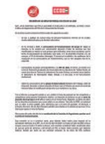 🔴 UGT | UGR INFORMA: REUNIÓN DE LA MESA SECTORIAL DEL PAS DE LA UGR