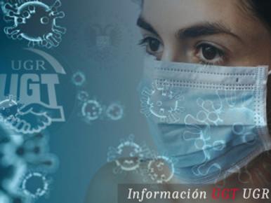 🔴 UGT | UGR INFORMA: COMUNICADO SERVICIO PAS. MEDIDAS EXCEPCIONALES DE ATENCIÓN AL USUARIO