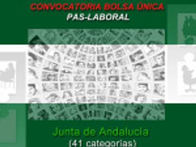 🔴 UGT INFORMA: CONVOCATORIA BOLSA ÚNICA PAS-LABORAL – Junta de Andalucía  (41 categorías)