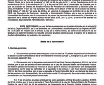 🔴 UGT INFORMA: REUNIÓN DE LA JUNTA DE PERSONAL PAS