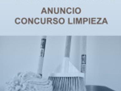 INFORMACIÓN IMPORTANTE SOBRE CONCURSO LIMPIEZA PARA CUBRIR PLAZAS DE PERSONAL LABORAL EN LA UGR
