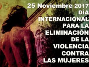 25N-DÍA INTERNACIONAL PARA LA ELIMINACIÓN DE LA VIOLENCIA CONTRA LAS MUJERES