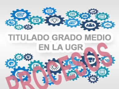 PUBLICACIONES SOBRE DISTINTOS PROCESOS, TITULADOS DE GRADO MEDIO EN LA UGR