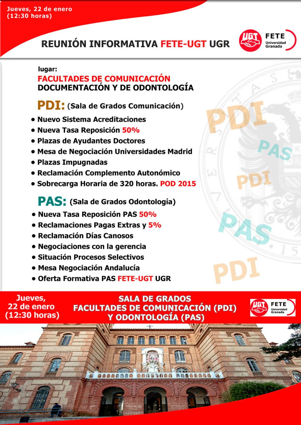 Cartel Facultad de Odontología