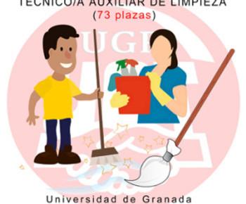 🔴 TÉCNICO/A AUXILIAR DE LIMPIEZA UGR (73 plazas): Valoración provisional del Proceso selectivo  Acc