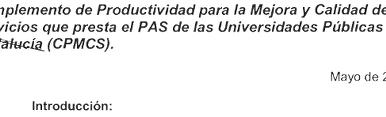 🔴 REGULACIÓN PAGO COMPLEMENTO DE CALIDAD (CPMCS)