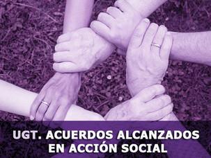 🔴 UGT. ACUERDOS ALCANZADOS EN ACCIÓN SOCIAL
