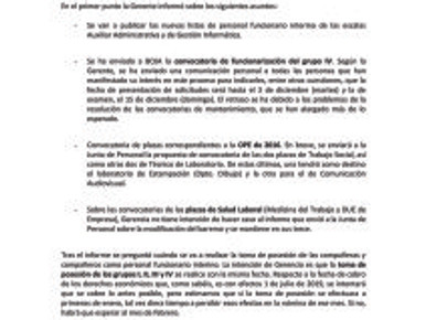 🔴 UGT | INFORMA: REUNIÓN DE LA MESA SECTORIAL DEL PAS DE LA UGR