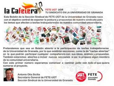 """EDITORIAL. Artículo extraído de """"La Cafetera"""" nº(200)"""