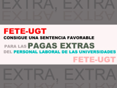 SENTENCIA FAVORABLE PAGA EXTRA UNIVERSIDADES GALLEGAS