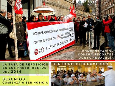 La CaFETEra nº 71,  de la Sección Sindical de FETE-UGT de la Universidad de Granada