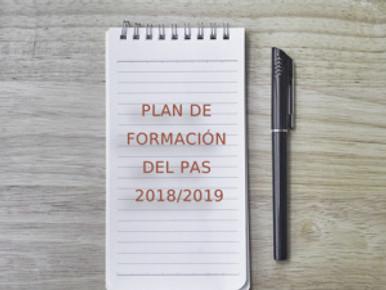 🔴 UGT  UGR INFORMA: PLAN DE FORMACIÓN DEL PAS 2018 / 2019