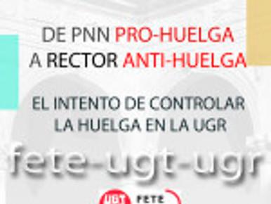 DE PNN PRO-HUELGA A RECTOR ANTI-HUELGA