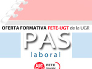 OFERTA FORMATIVA FETE-UGT de la UGR