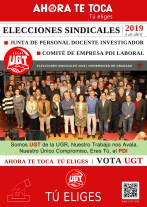 🔴UGT|UGR INFORMA: EL MIERCOLES 3 DE ABRIL VOTA UGT – AUNQUE UGT DEFENDIÓ EL VOTO ELECTRÓNI